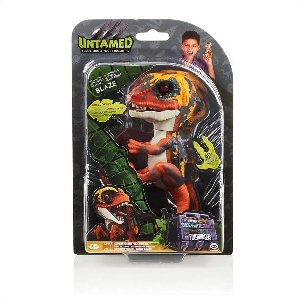 Jazwares 3781 - WowWee - Fingerlings - Velociraptor, Dinosaurier, Blaze