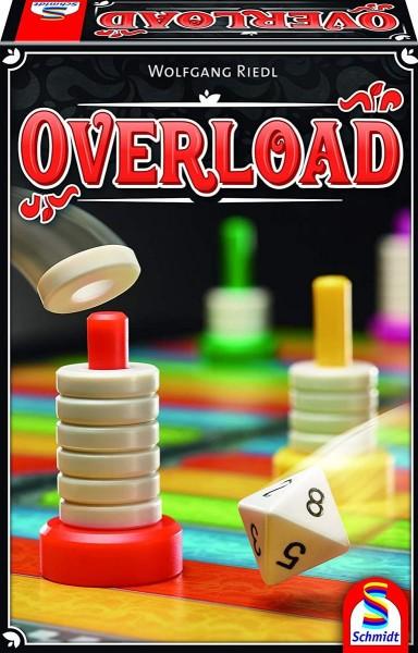 Schmidt 49350 - Stapel- und Laufspiel, Overload