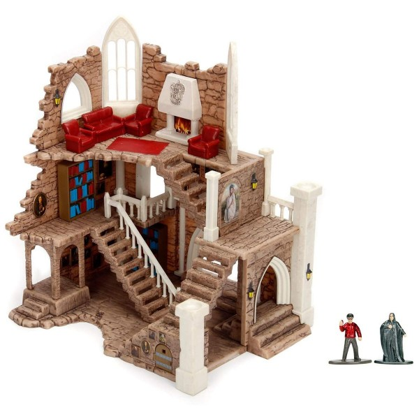 Simba 10058737 (253185001) - Harry Potter - Spielset, Hogwarts, Griffindor Turm, 2 Sammelfiguren