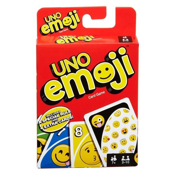 Mattel DYC15 - UNO - Kartenspiel, emoji