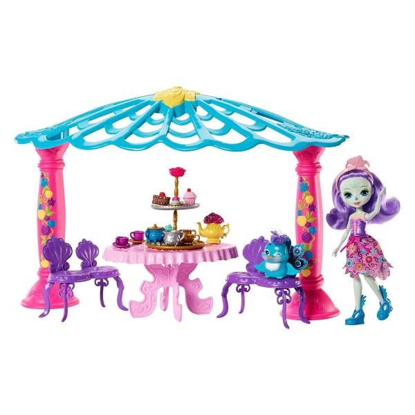 Mattel FRH49 - Enchantimals - Spielhaus-Set, Teepavillon