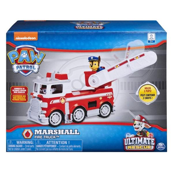 Spin Master 6046151 (20106075) - Paw Patrol - Ultimate Rescue Basis Fahrzeug mit Figur - Marshall