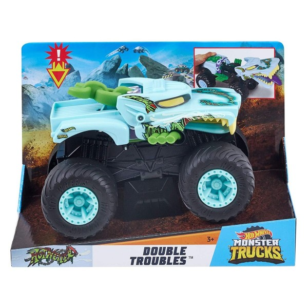 Mattel GCG20 - Hot Wheels - Double Troubles
