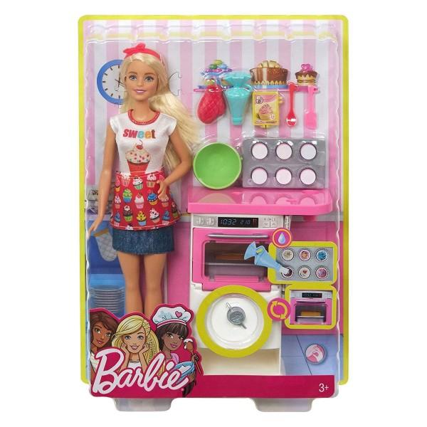 Mattel FHP57 - Barbie - Bäckerin mit Zubehör