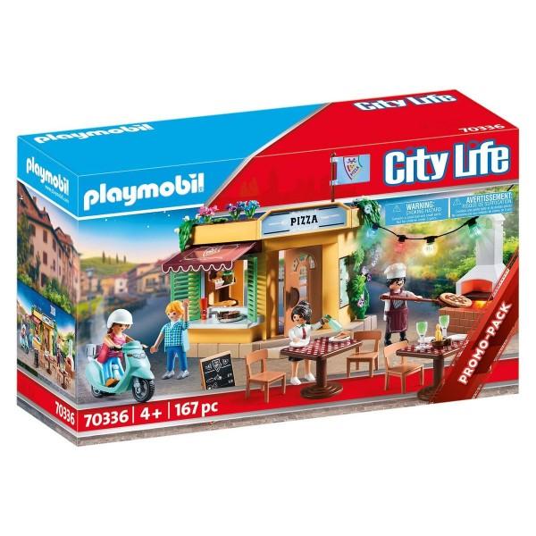 PLAYMOBIL® 70336 - City Life - Pizzeria mit Gartenrestaurant