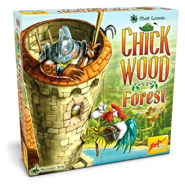 Simba 601105115 - Zoch - Kartenspiel, Chickwood Forest