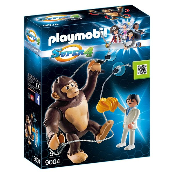 PLAYMOBIL® 9004 - Super 4 - Riesenaffe, Gong