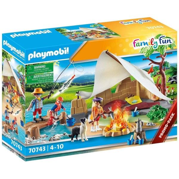 PLAYMOBIL® 70743 - Family Fun - Familie beim Campingausflug