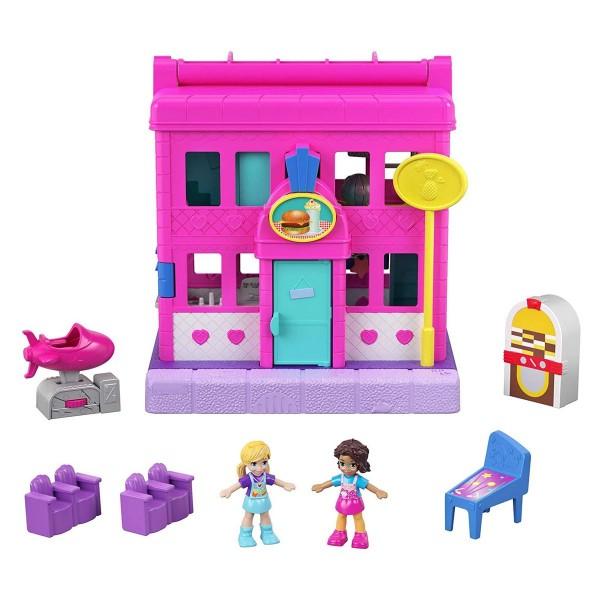 Mattel GGC30 - Polly Pocket - Pollyville - Spielset, Restaurant