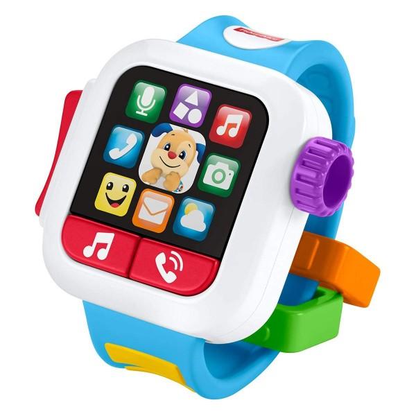 Mattel GNK88 - Fisher-Price - Lernspaß Smart Watch mit Licht und Sound