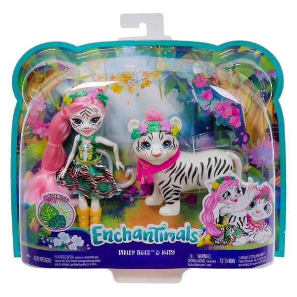 Mattel GFN57 - Enchantimals - Tadley Tiger & Kitty