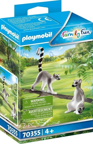 PLAYMOBIL® 70355 - Family Fun - 2 Kattas