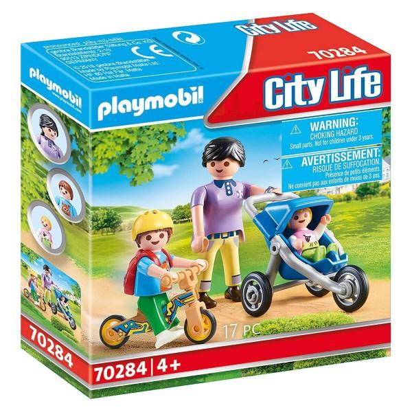 PLAYMOBIL® 70284 - City Life - Mama mit Kindern