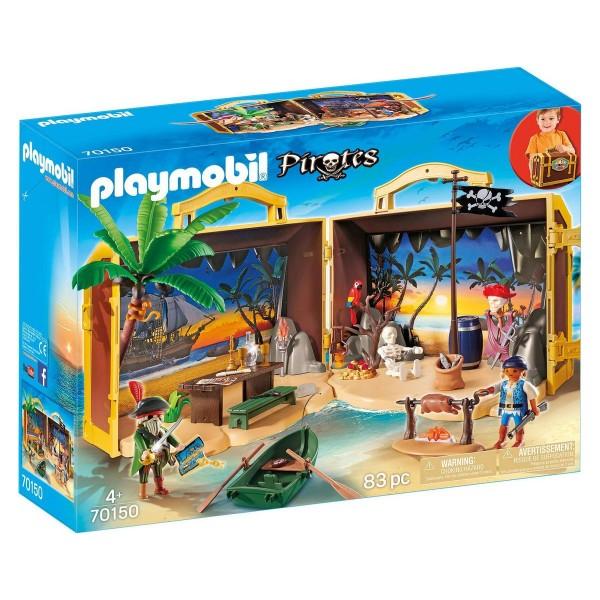 PLAYMOBIL® 70150 - Pirates - Mitnehm-Pirateninsel