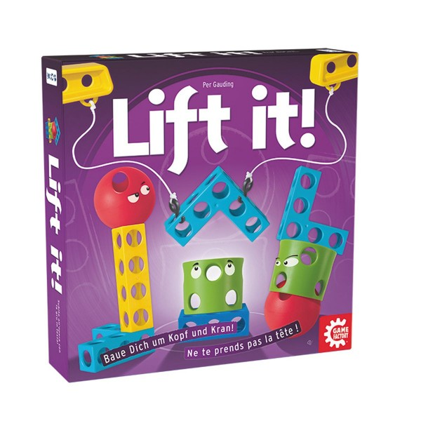 Carletto 646137 - Game Factory - Gesellschaftsspiel, Lift it !