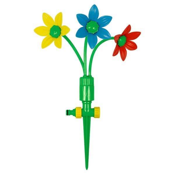 Coppenrath 17236 - Die Spiegelburg - Sommerkinder - Lustige Sprinkler-Blume für Gartenschläuche