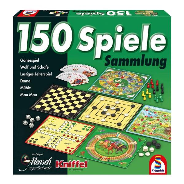 Schmidt 49141 - Spielesammlung 150 Spiele