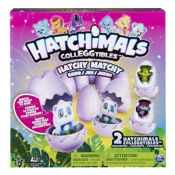 Spin Master 20093233 - Hatchimals - Hatchy Matchy Game (1)