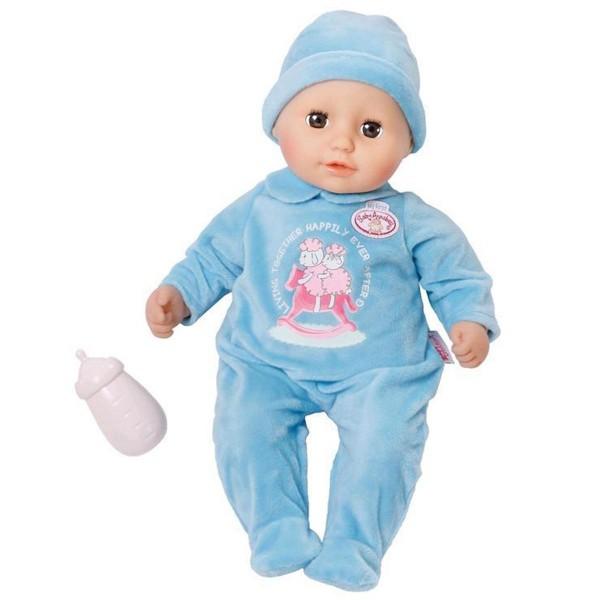 Zapf 700549 - Baby Annabell - My First - Puppe mit Schlafaugen, Junge, Alexander