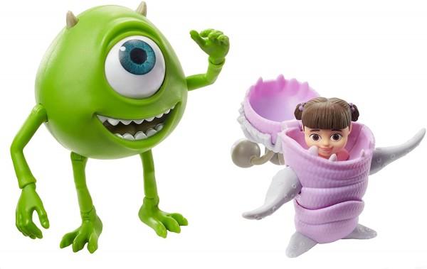 Mattel GLX81 - Disney Die Monsters AG - Spielfiguren, 2-er Pack, Mike Glotzkovski und Buh